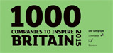 1000 companies to inspire Britain award