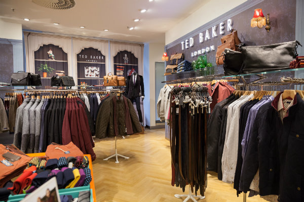 Ted Baker shares shine on smart profits
