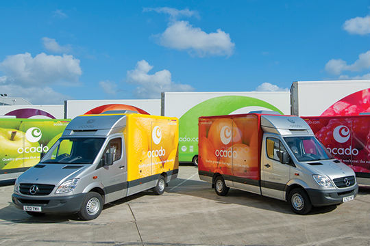 Ocado outpaces grocery market with record 1.27bn year
