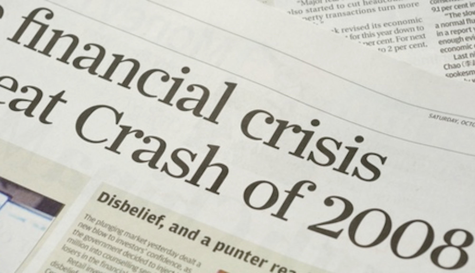 Financial Crash 2008