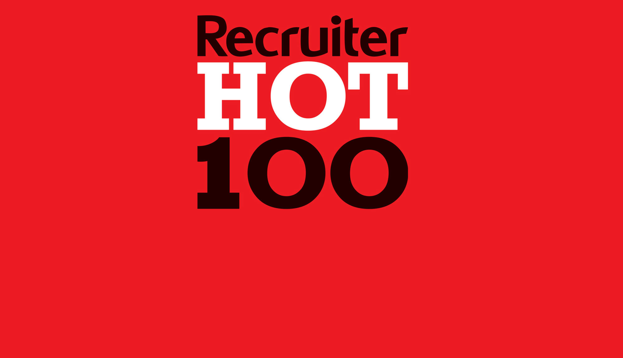 Twenty Recruitment Recruiter Hot 100