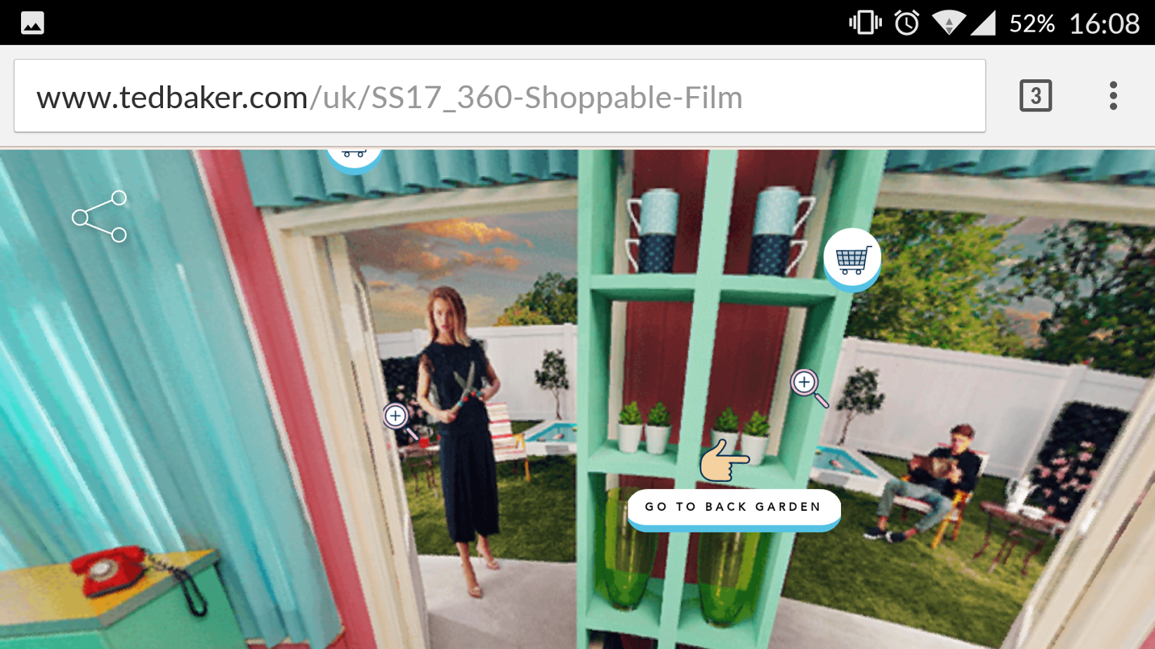 16b9135c826048 Hands On with Ted Baker s interactive campaign - Retail Gazette