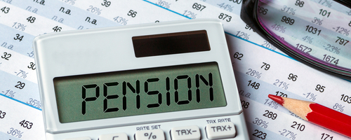 calculating pension