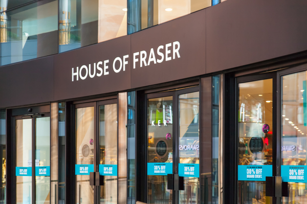 House of Fraser to revamp shops as it hails jump in profits