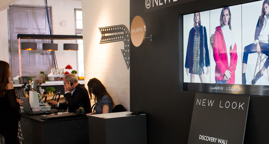 Digital Signage in New Look